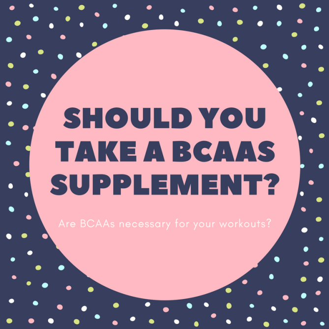 Should you take a BCAAS Supplement-